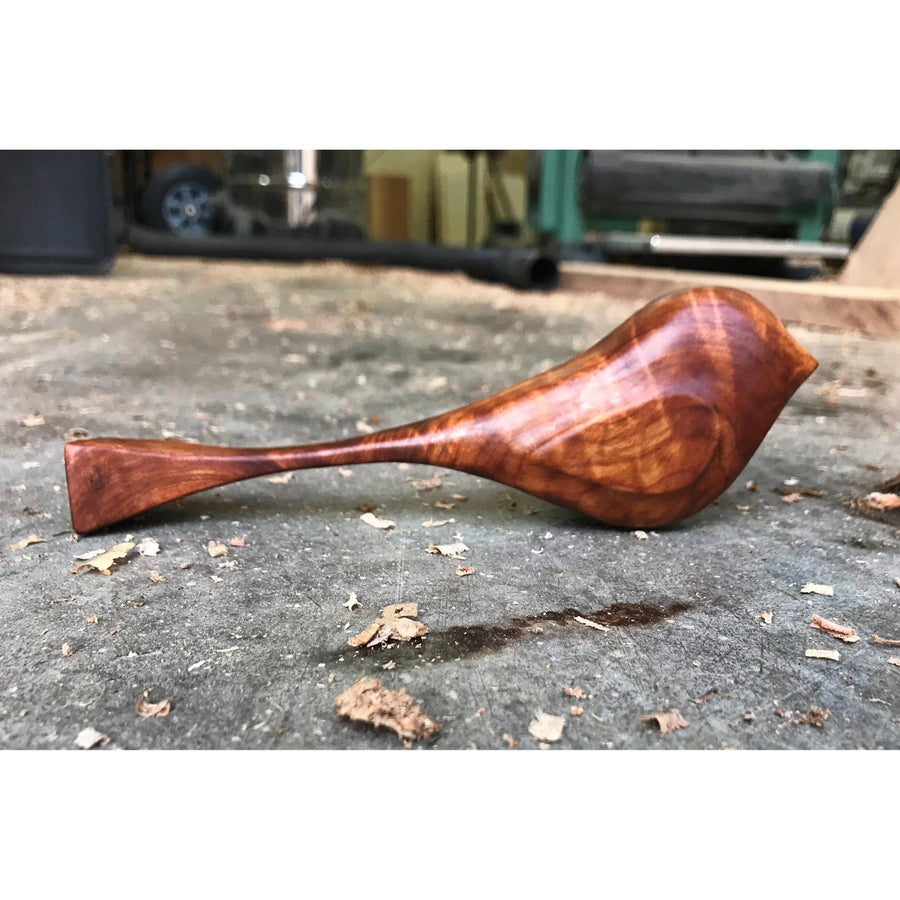 Image of PRE-ORDER Old Growth Curly Red Cedar Burl Bird