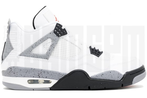 "Image of Nike AIR JORDAN 4 RETRO ""CEMENT"" 2012"