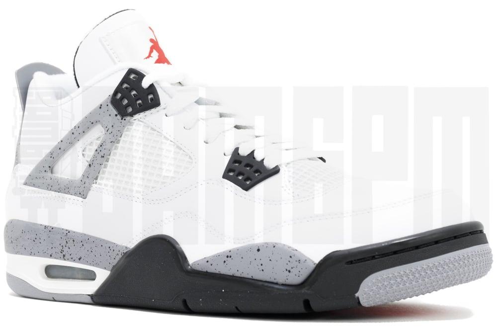 """Image of Nike AIR JORDAN 4 RETRO """"CEMENT"""" 2012"""