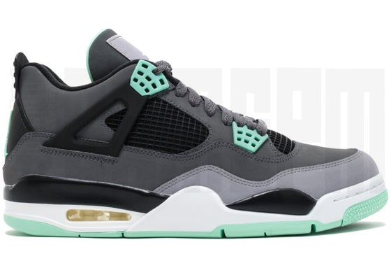 "Image of Nike AIR JORDAN 4 RETRO ""GREEN GLOW"""