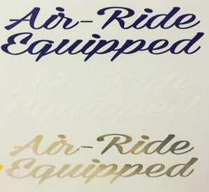 Image of Air-Ride Equipped Sticker