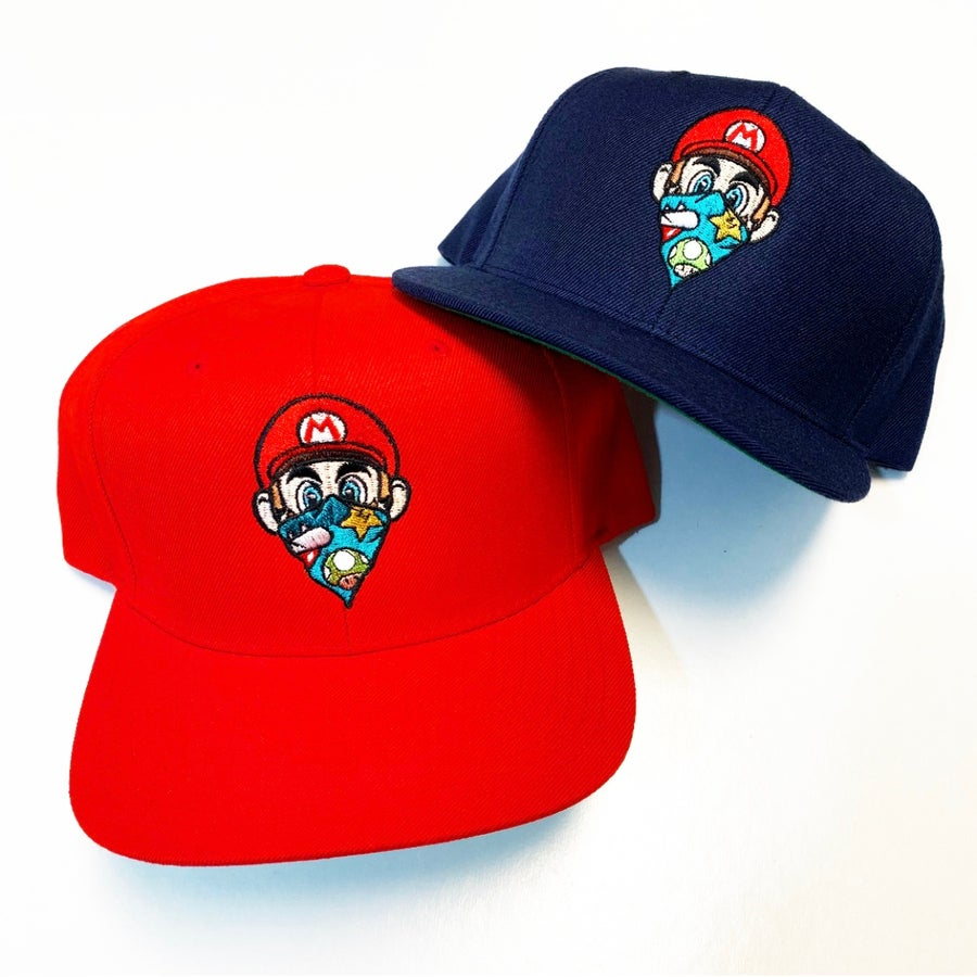 Image of Mario SnapBack 48 hour PRE ORDER (ships within 2 weeks)