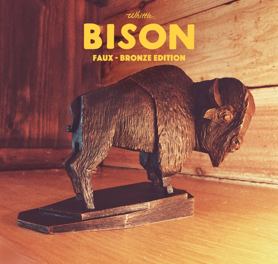Image of Whittle Bison - FAUX-BRONZE EDITION