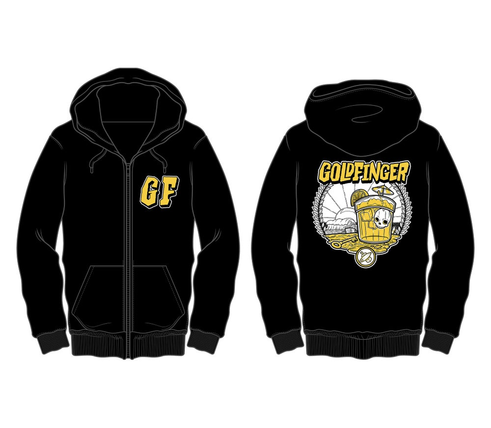 Image of Tijuana Sunrise Zip-Up Hoodie