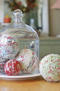 Image of fabric decorative balls pdf file