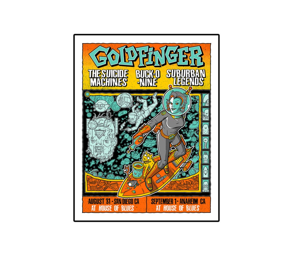 Image of SoCal Concert Poster