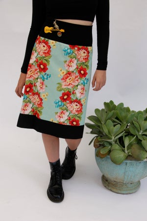 Image of   Cotton Reversible Skirts Virtual Upmarket Offer $30.00 0ff