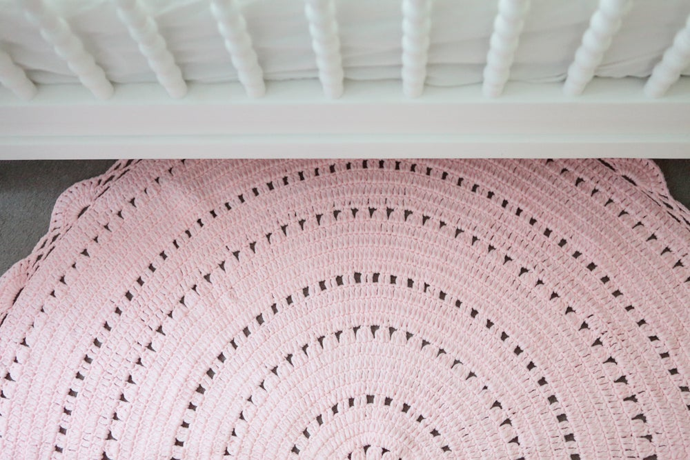 Image of Fairy Floss Pink Rug