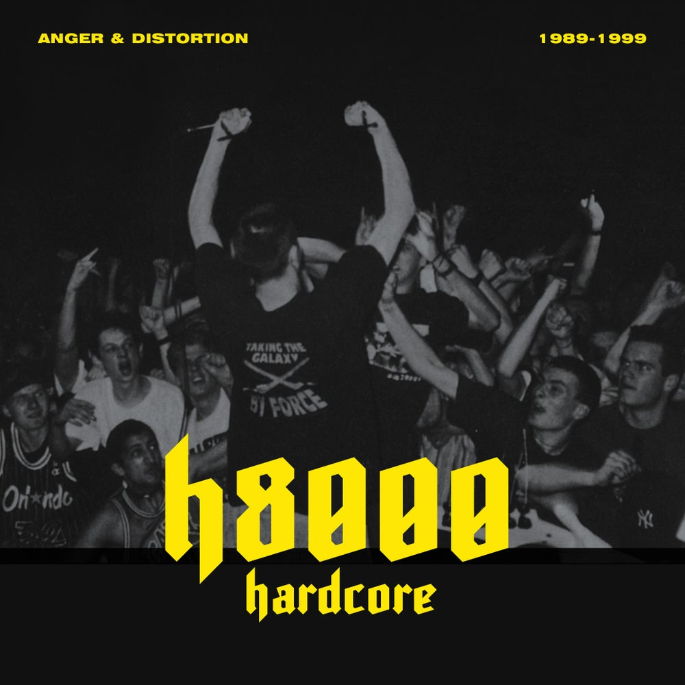 Image of H8000 documentary - Anger & Distortion; 1989 - 1999 - DVD