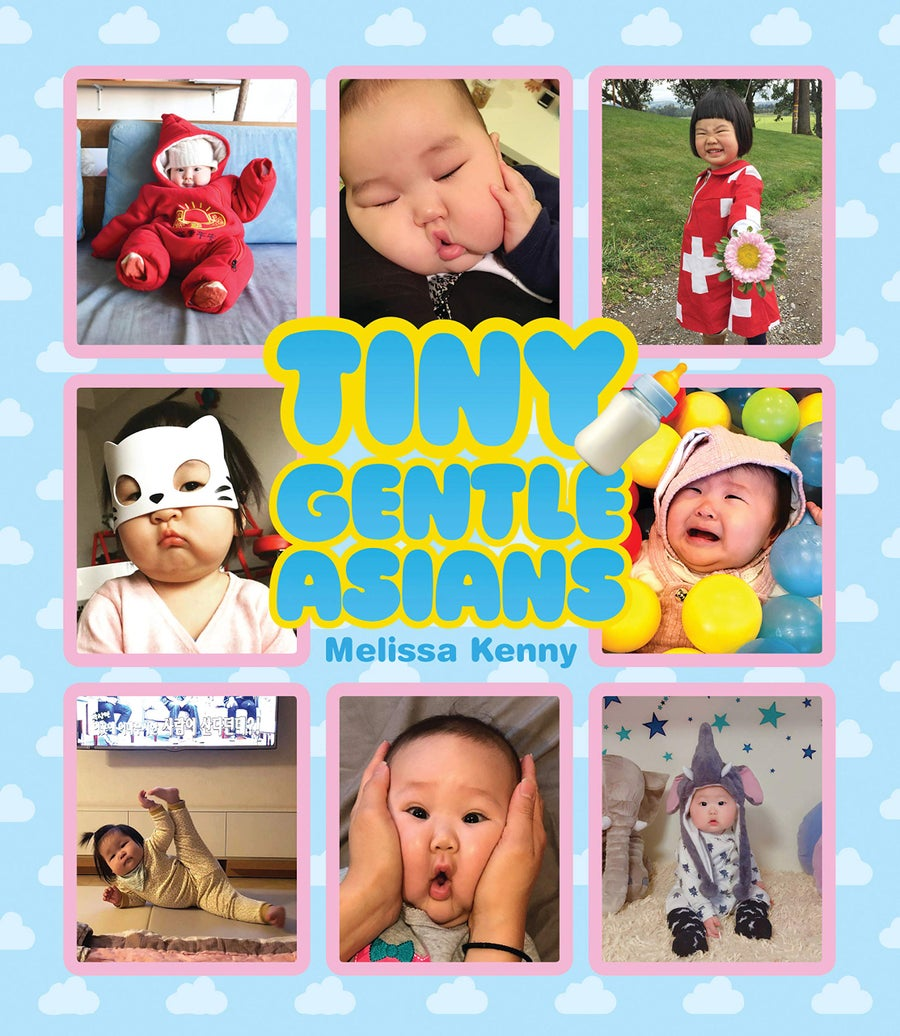 Image of PRE-ORDER: 'Tiny Gentle Asians'—the book