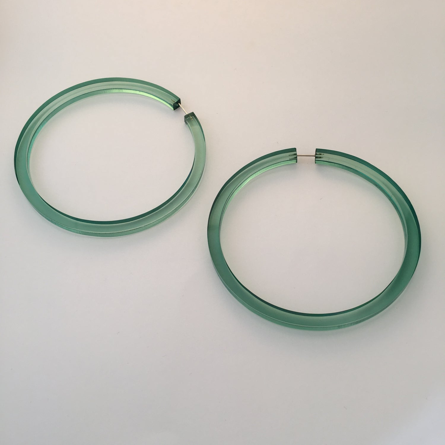 Image of Halston Hoop Earrings