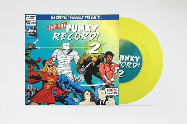 """Image of Cut The Funky Record 2 by Dj Suspect 7"""" record"""