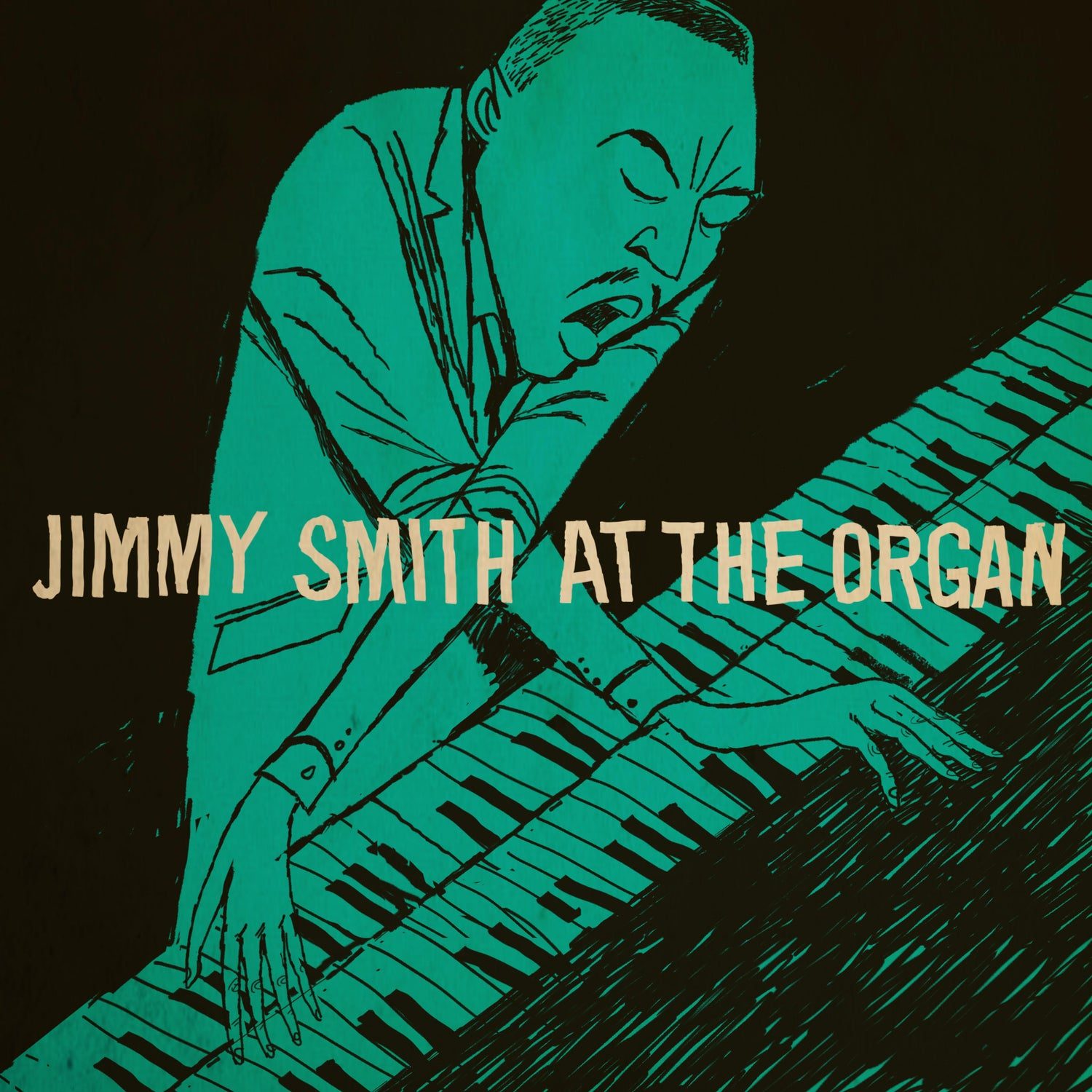 Image of Jimmy Smith at the organ