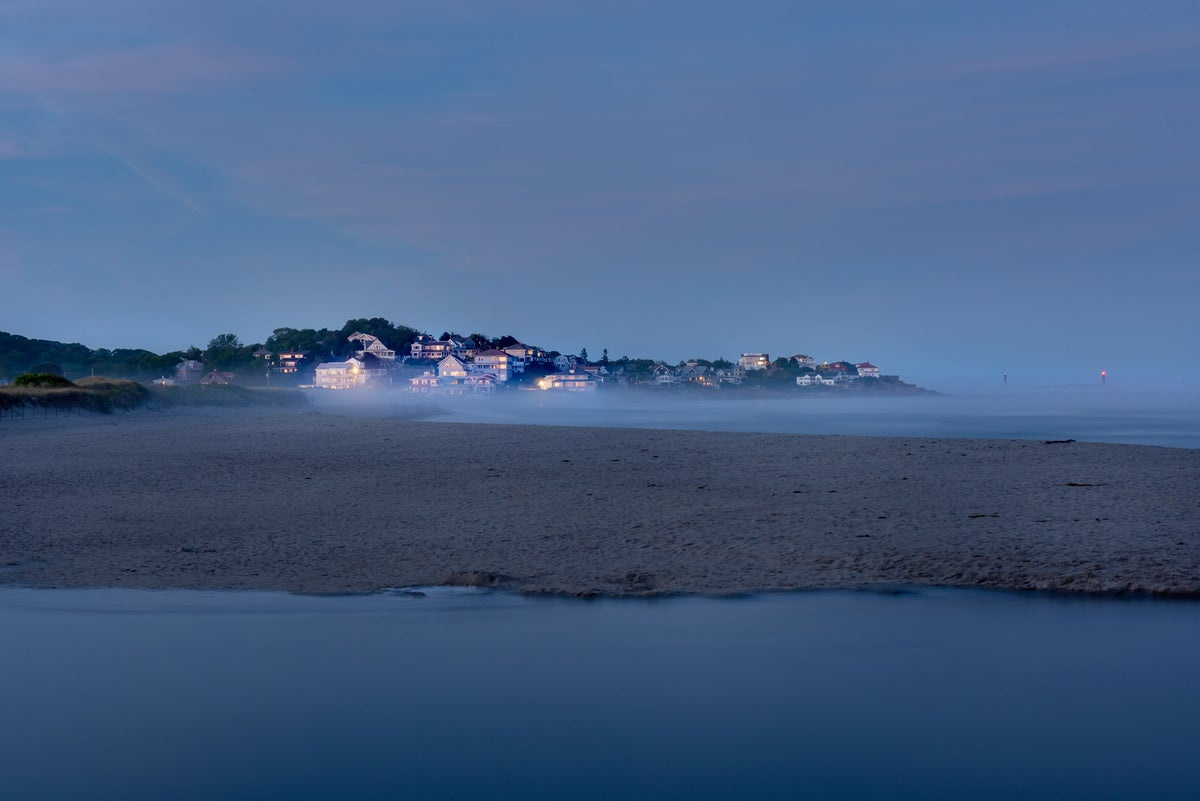 Image of GOOD HARBOUR BEACH, NEW ENGLAND.