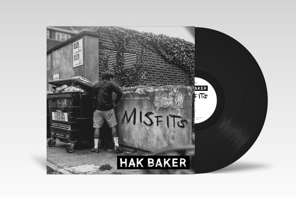 """Misfits EP + Misfits Unplugged super lad LTD Edition 12"""" Vinyl"""