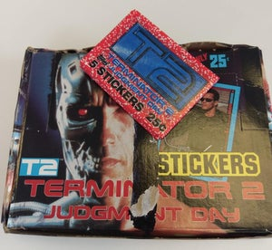 Image of Terminator 2: Judgement day Original Topps Trading cards 1991