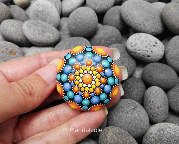 Image of Mini Mandala Stone Fall 4