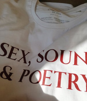 "Image of ""Sex, Sound & Poetry"" Women´s T-Shirt"