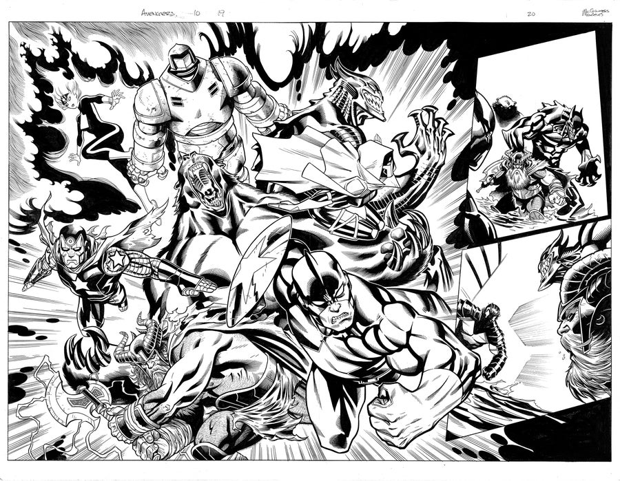 Image of Avengers (2018) #700 PGS 19-20