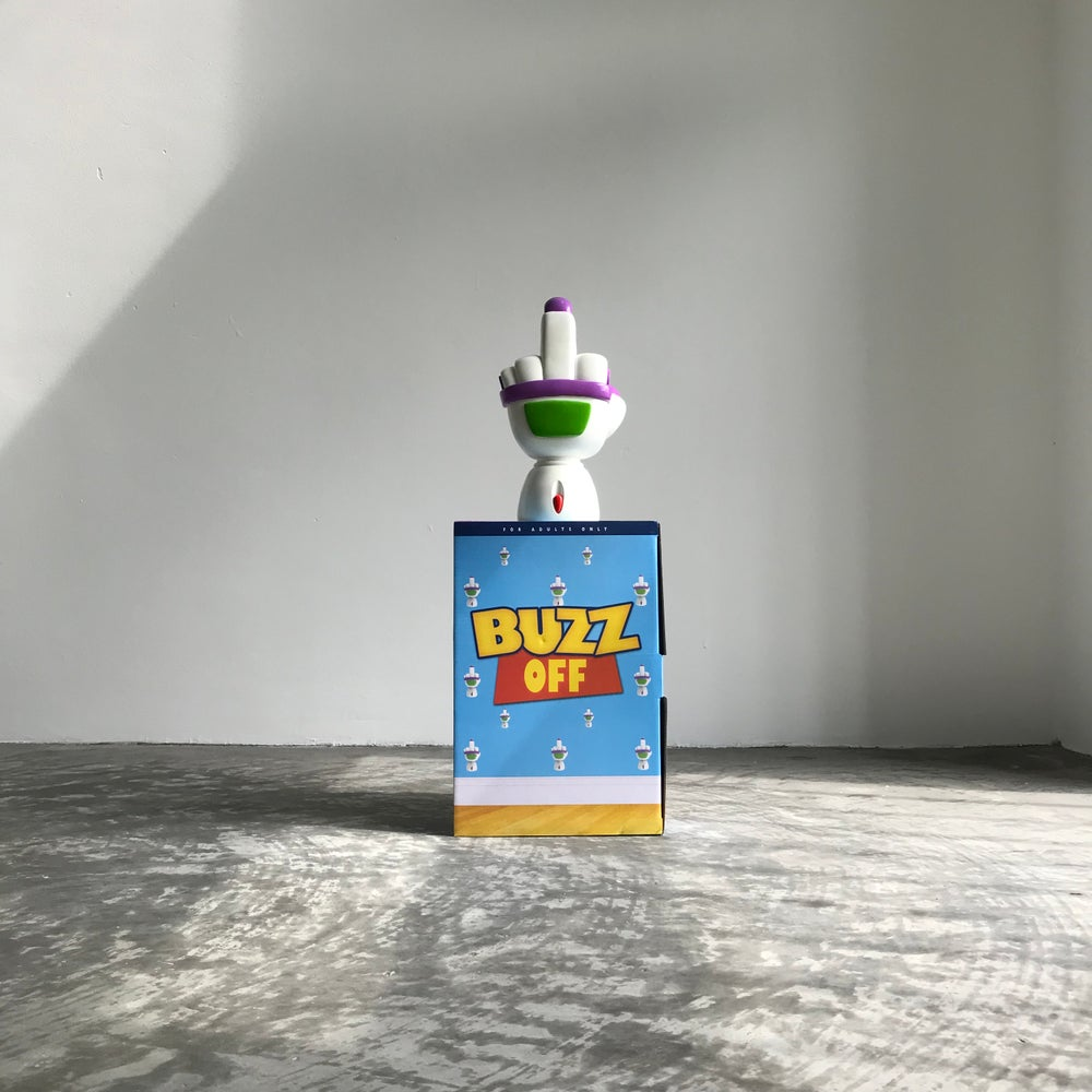 Image of BUZZ OFF resin hand