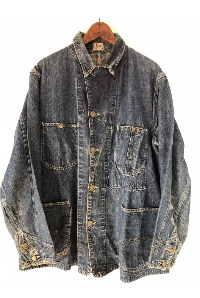 Image of 1930's LEE CHORE JACKET