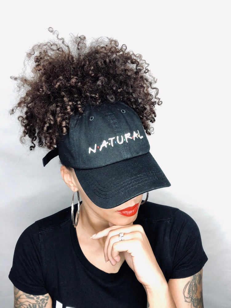 "Image of ""Natural"" Puff Dad Hat"
