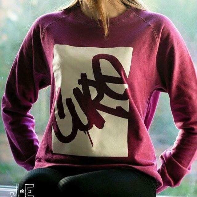 Image of Cure organic unisex sweatshirt