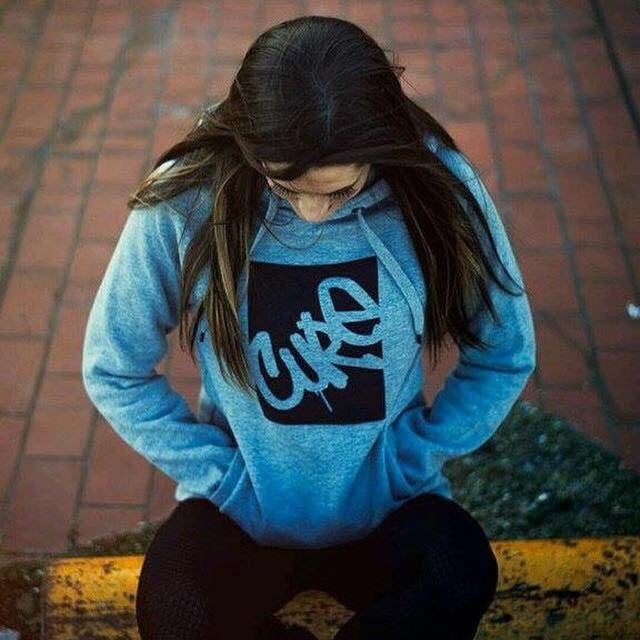Image of Cure unisex logo pullover
