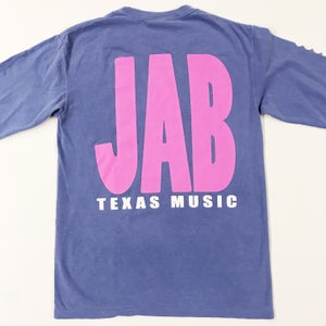 Image of JAB Blue & Pink Long Sleeve T-Shirt