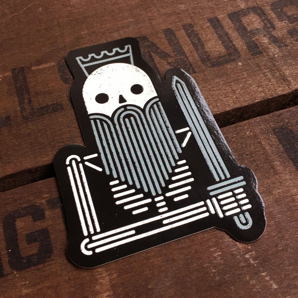 Image of Dead King Sticker