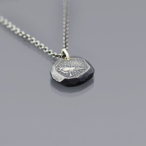 Image of Sterling Silver Celestial Crow Necklace