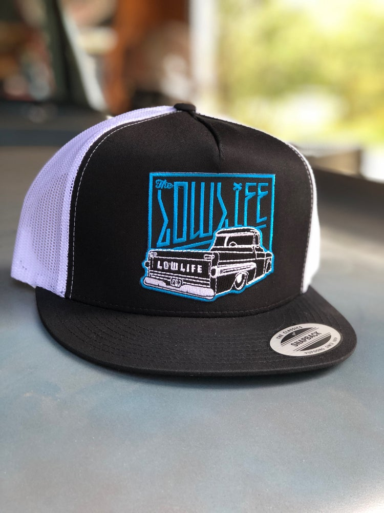 Image of Turquoise Fleetside Patch Hat