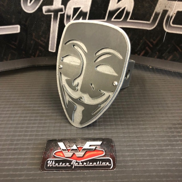 Image of Vendetta Mask Two Layer Hitch Cover