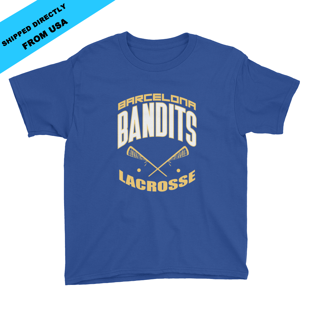 Image of Youth Team Bandits T-shirt - blue