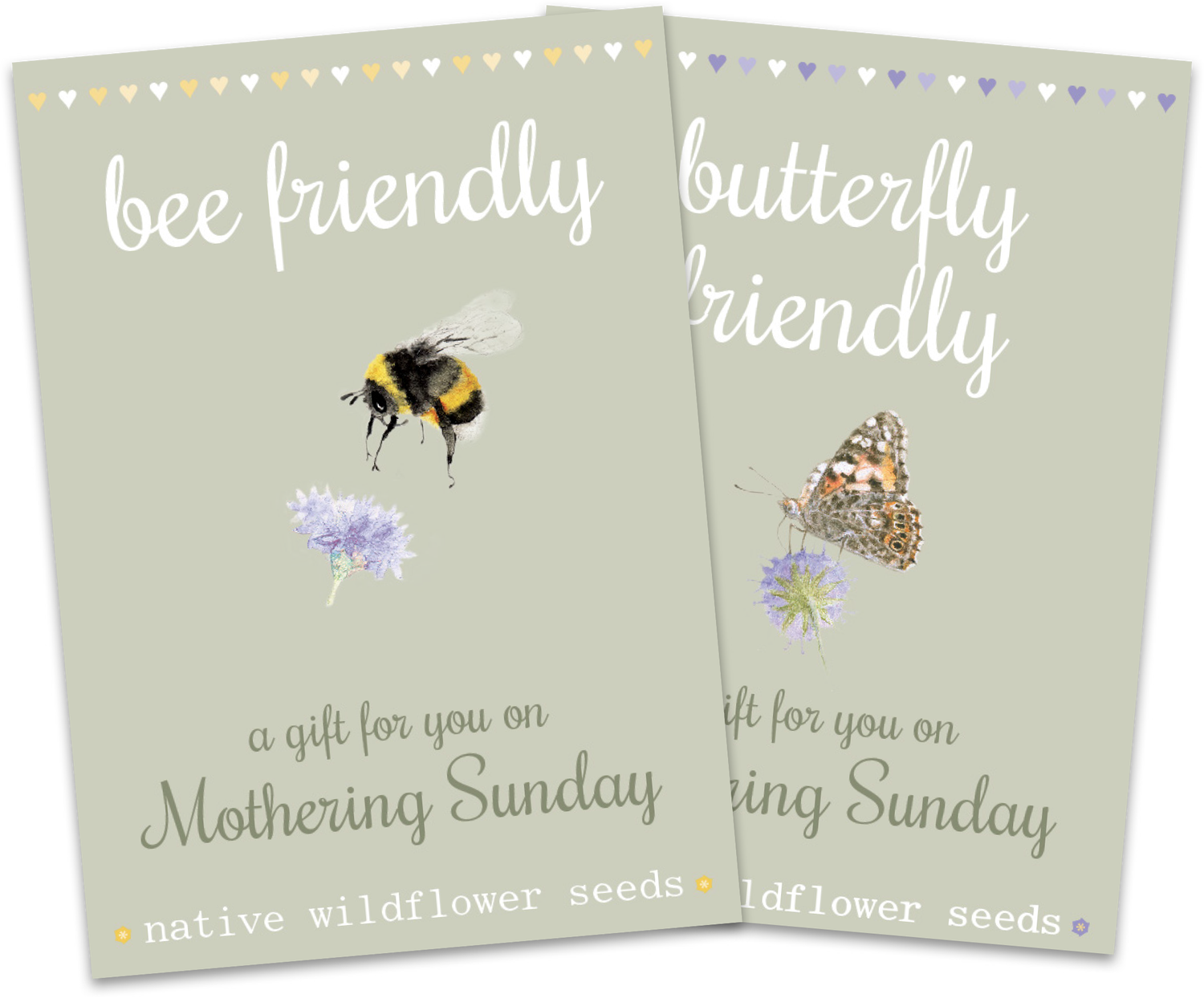 Image of Duo Pack of Mother's Day Bee and Butterfly Packs - NEW!