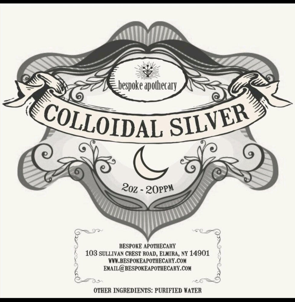 Image of 2 oz. / 16 oz.  -  20 PPM Colloidal Silver