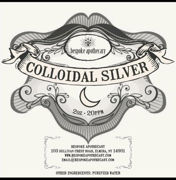 Image of 2 oz. / 16 oz.  -  20 PPM Colloidal Silver