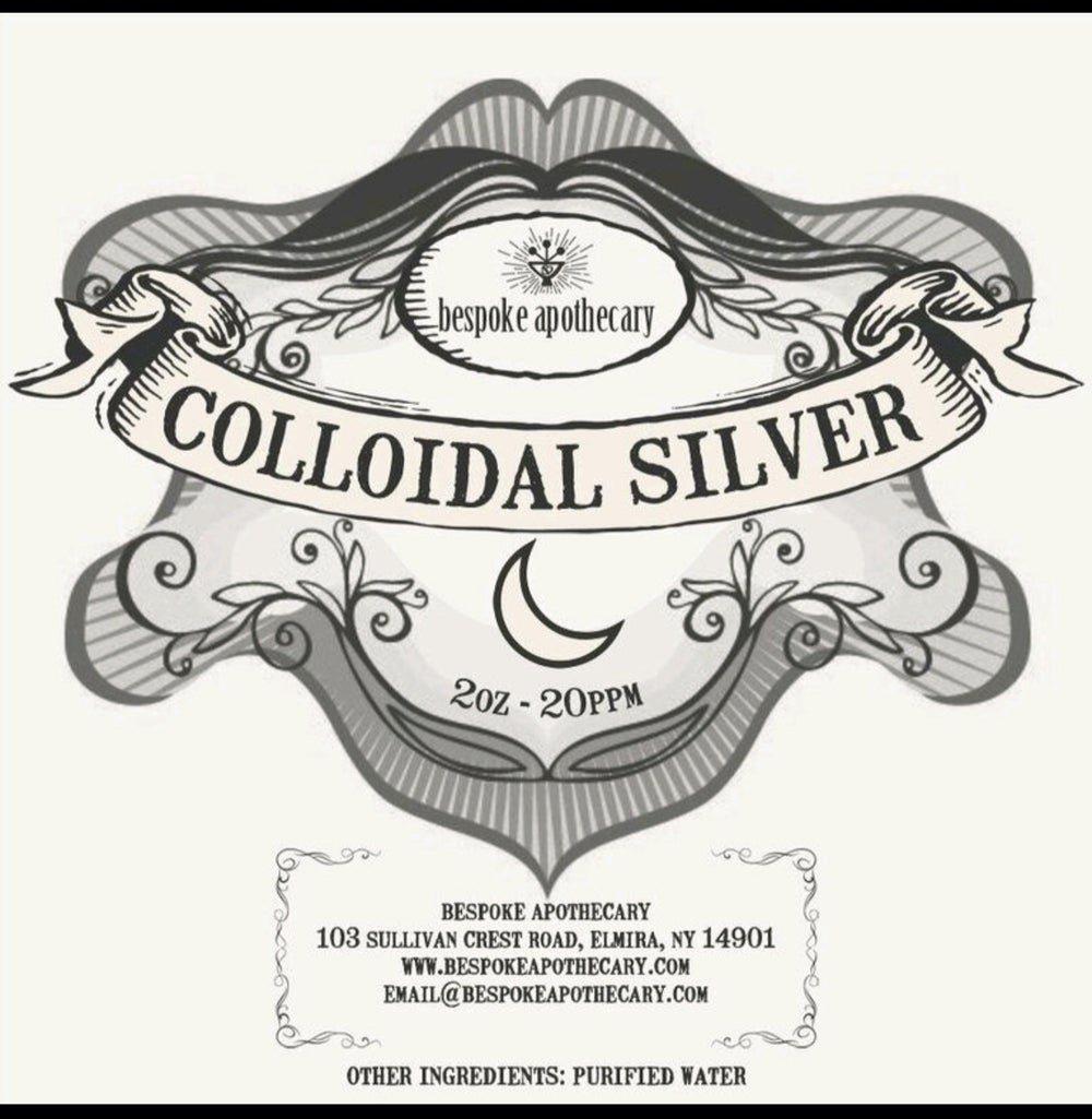 2 oz. / 16 oz.  -  20 PPM Colloidal Silver