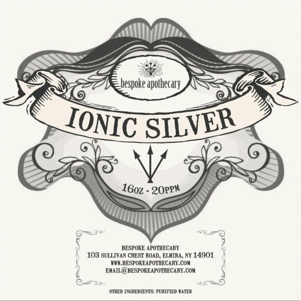 Image of 2 oz. / 16 oz. -  20 PPM Ionic Silver