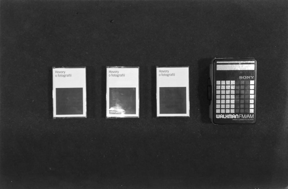 Image of Hovory o fotografii / Talks on photography - audio zine on cassette / Stanislav Briza