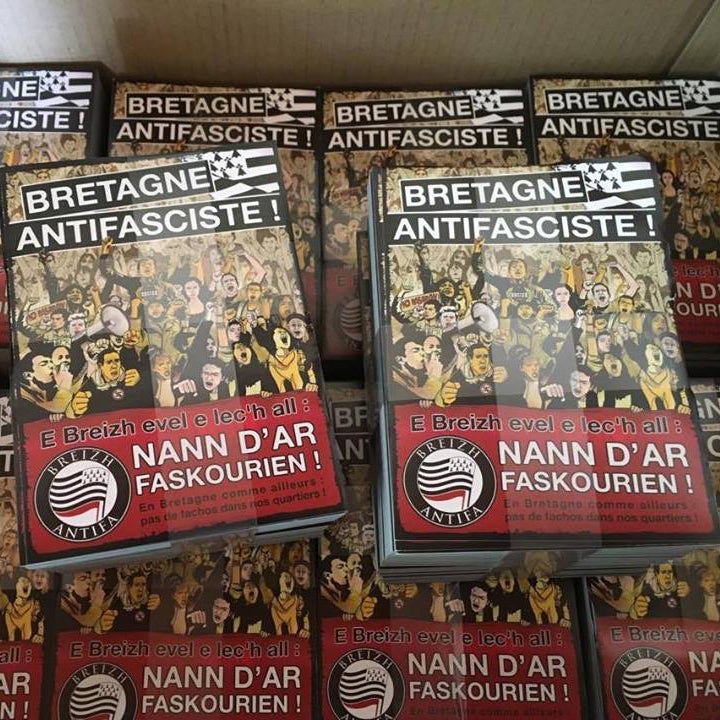 "Image of Lot d'autocollants ""Bretagne antifasciste"""