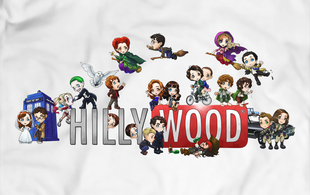 Image of UPDATED: Hillywood Chibi Tee