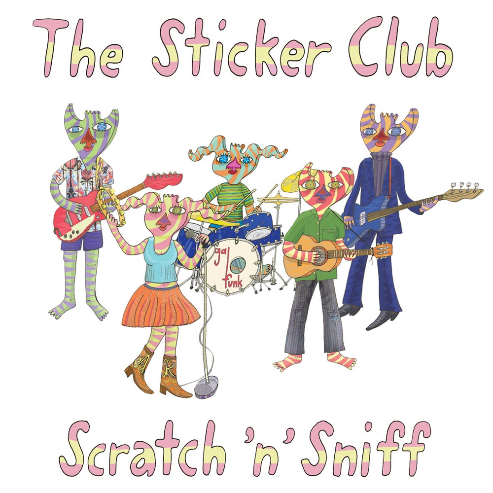 Image of The Sticker Club :: SCRATCH 'N' SNIFF