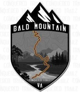 "Image of ""Bald Mountain"" Trail Badge"