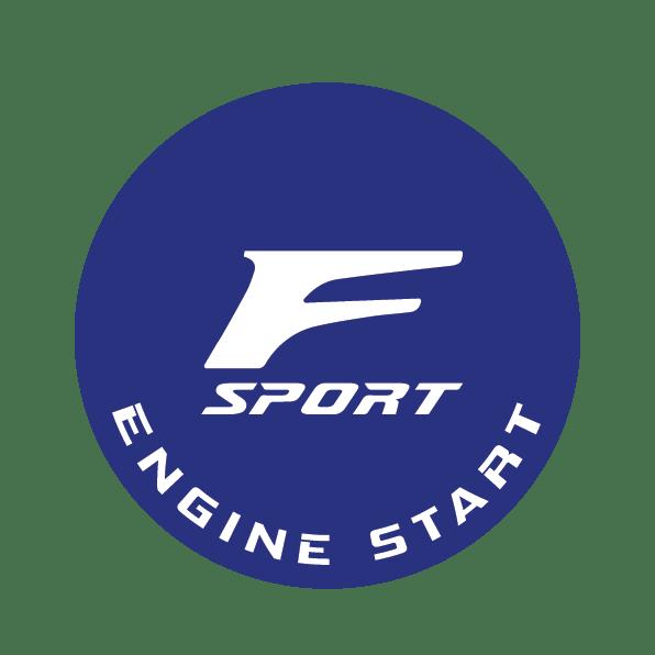 "Image of Lexus F-Sport Design - ""F"" Blue"