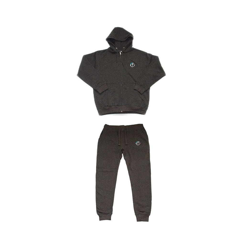 Image of C.A.S. Charcoal Grey Sweatsuit