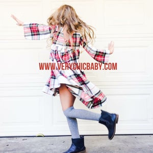 Image of The Perfect Flannel Dress