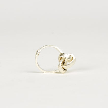 Image of Silver Knot Ring