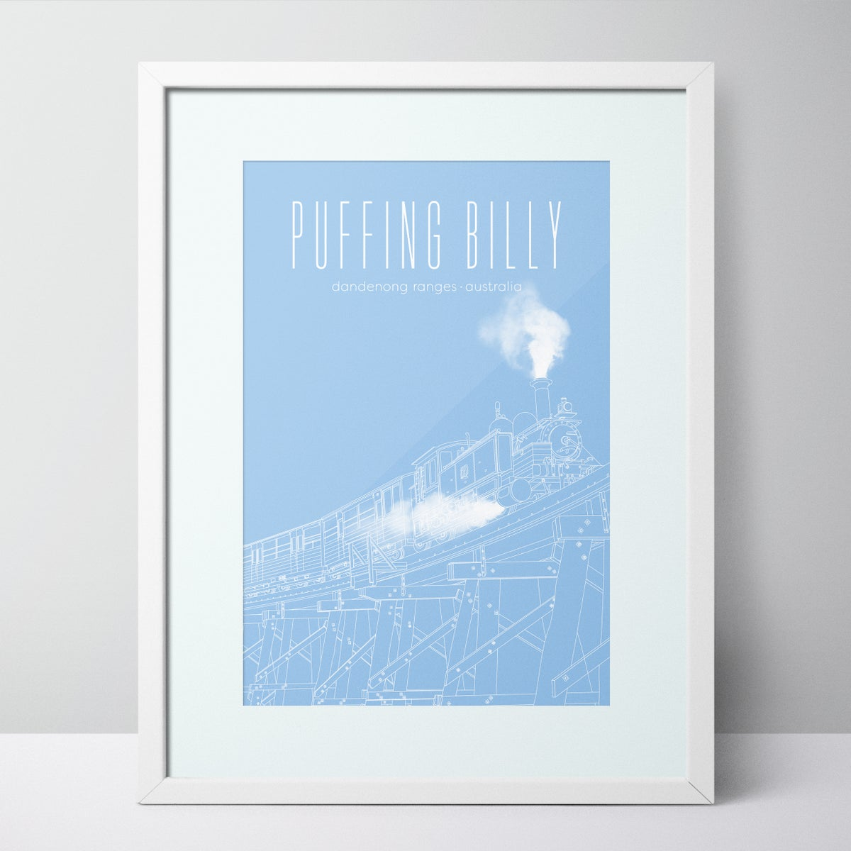 Image of Puffing Billy - Dandenong Ranges