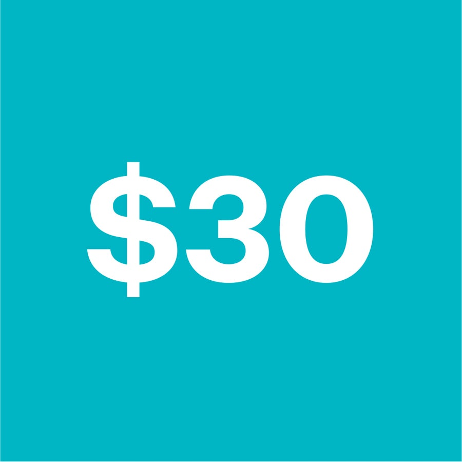 Image of $30